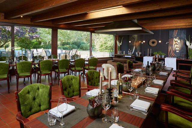 Grillraum im Hotel & Restaurant Schröder