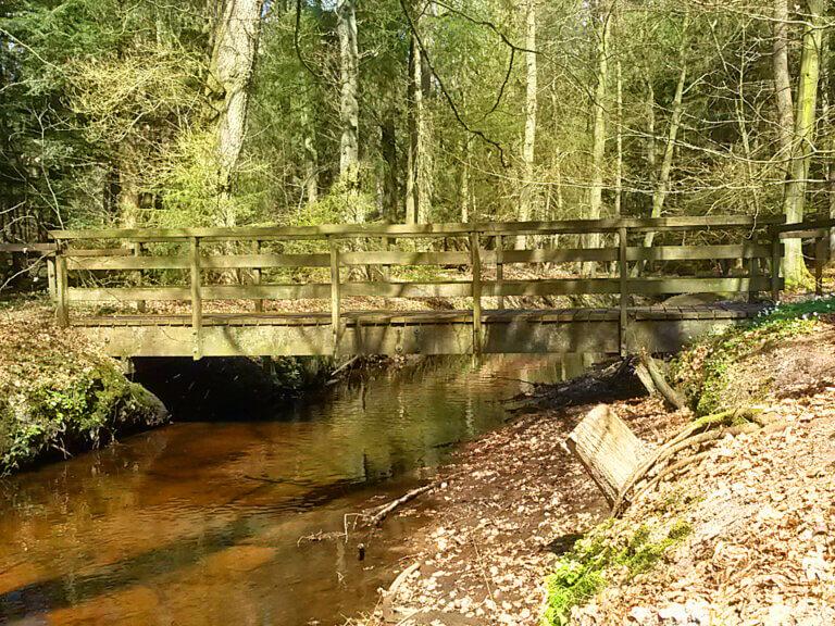 Brücke über den Kuhbach