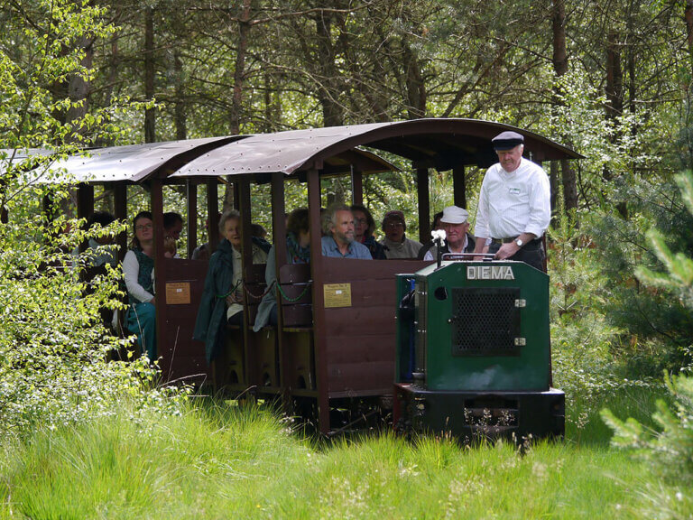 Fahrt mit der Tister Moorbahn