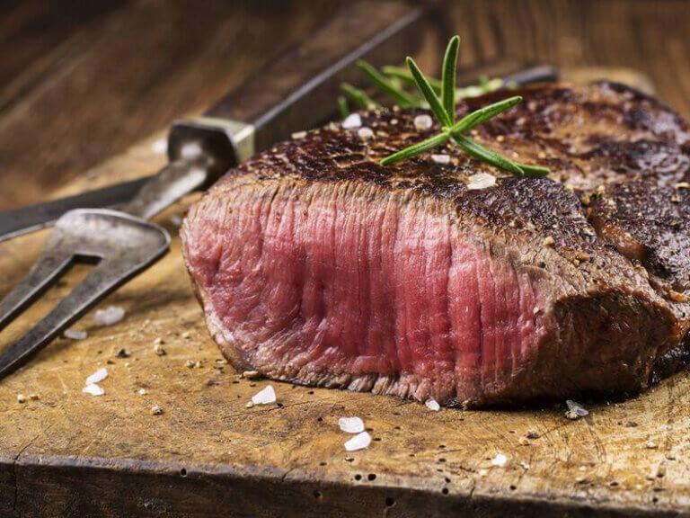 Steak im Landhotel Schöder